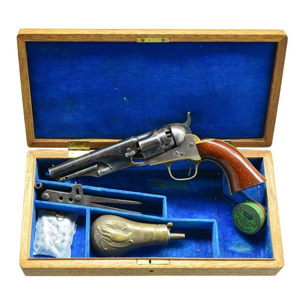 COLT 1862 POLICE MODEL REVOLVER.