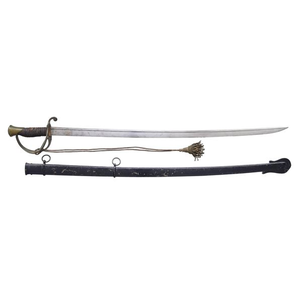 CONFEDERATE CONVERSION OF DRAGOON SWORD BY