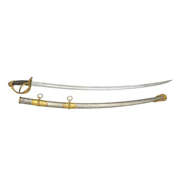 SAUERBIER CAVALRY OFFICER'S SWORD.