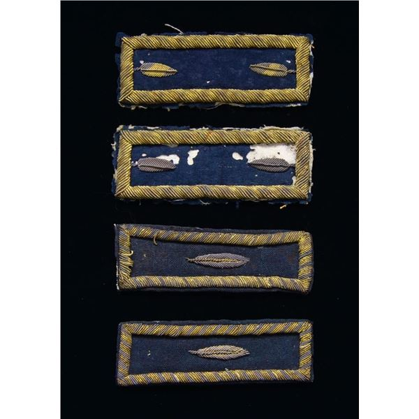 EXTREMELY RARE CONFEDERATE NAVY ENGINEER'S STRAPS