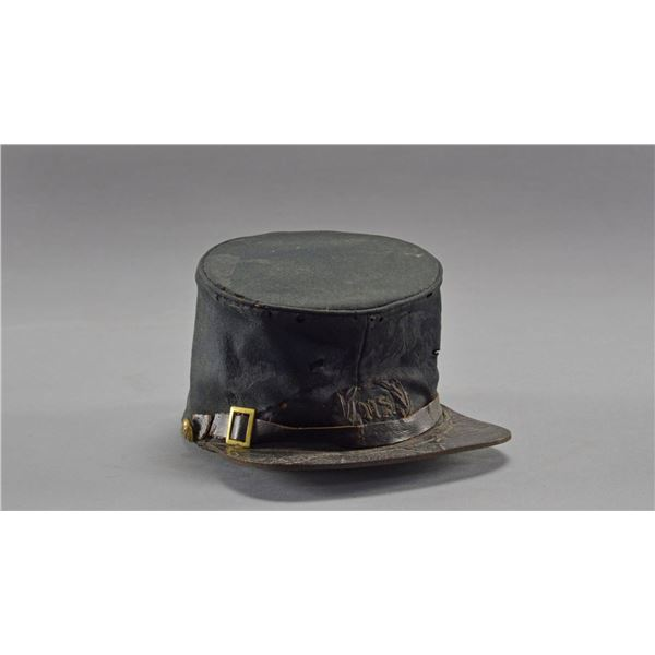 "RARE CIVIL WAR OFFICER'S CAP WITH ""US"" STAFF"