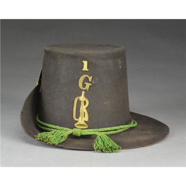 EXTREMELY RARE CIVIL WAR REGULATION HARDEE HAT FOR