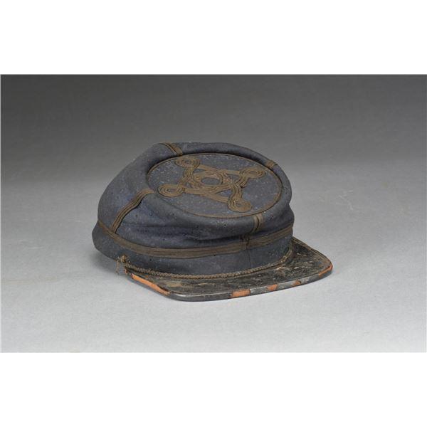 """DOCUMENTED UNION OFFICER'S CAP """"CAPT. JOHN H."""