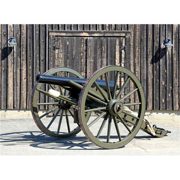 VERY FINE CIVIL WAR 3 INCH MODEL 1861 ORDNANCE
