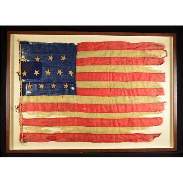 CIVIL WAR ARCHIVE AND FLAG, WILLIAM NEIL, 29TH OVI