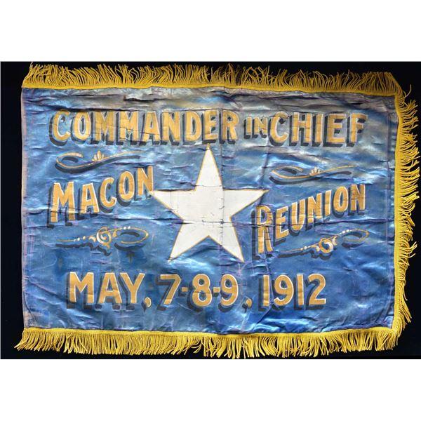 """MACON REUNION 1912, """"BONNIE BLUE FLAG""""."""