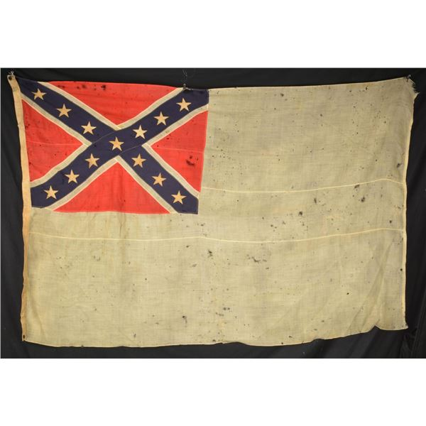 REUNION ERA CONFEDERATE 2ND NATIONAL FLAG.