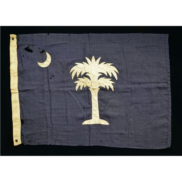 REUNION ERA CONFEDERATE SOUTH CAROLINA STATE FLAG.