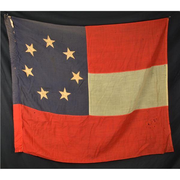 "REUNION ERA 1ST NATIONAL CONFEDERATE FLAG ""STARS &"