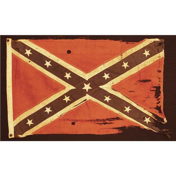 REUNION ERA CONFEDERATE BATTLE FLAG.