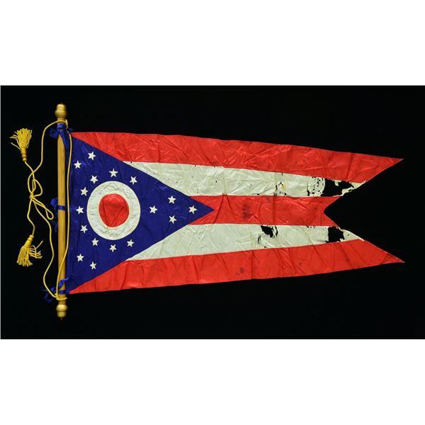 REUNION ERA OHIO STATE SEAL FLAG.
