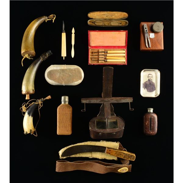 CIVIL WAR & OTHER MILITARY & RELATED ITEMS.