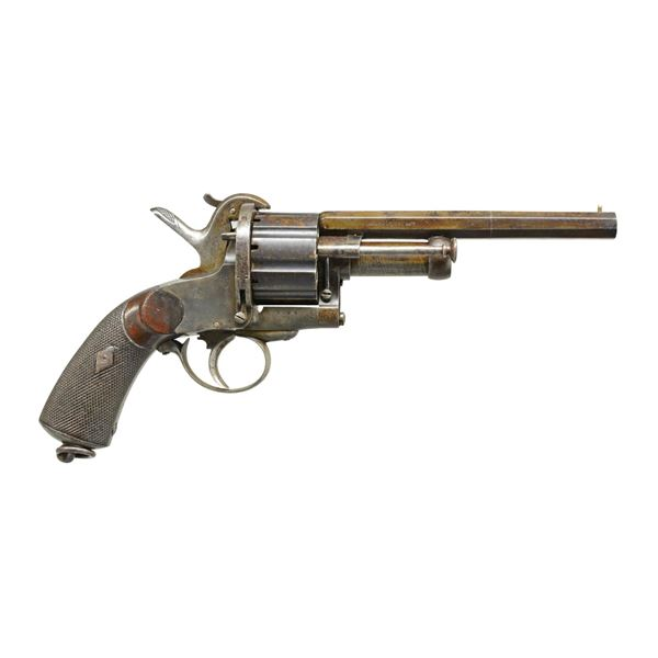 EXTREMELY RARE LEMAT PINFIRE REVOLVER.