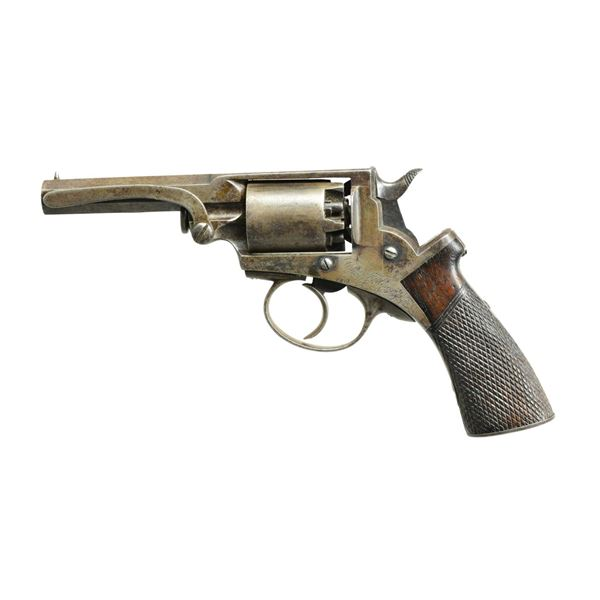 SCARCE CIVIL WAR MASS ARMS REVOLVER INSCRIBED TO