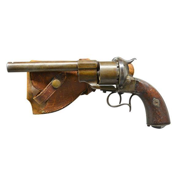 CIVIL WAR MODEL 1855 LEFAUCHEUX 12MM ARMY PISTOL.