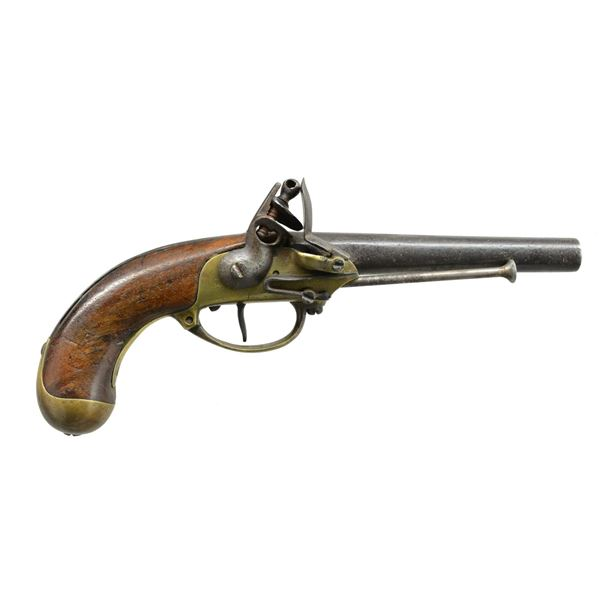 FRENCH MODEL 1777 PISTOL BY MAUBEUGE ARSENAL.