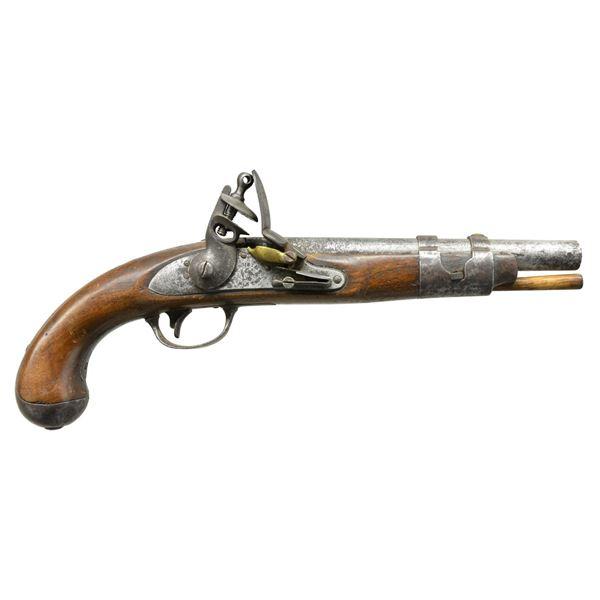 US CONTRACT MODEL 1816 FLINTLOCK PISTOL.