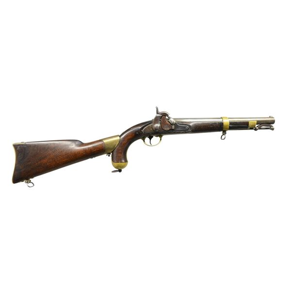 US MODEL 1855 PISTOL CARBINE WITH REPRODUCTION
