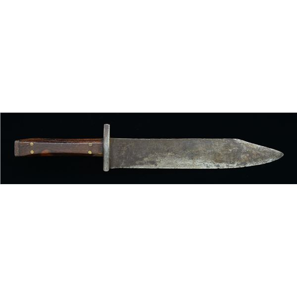 LARGE AMERICAN FIGHTING KNIFE.