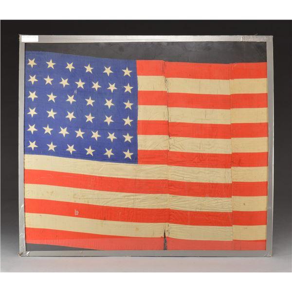 AMERICAN FLAGS, PRINTS & A BROADSIDE.