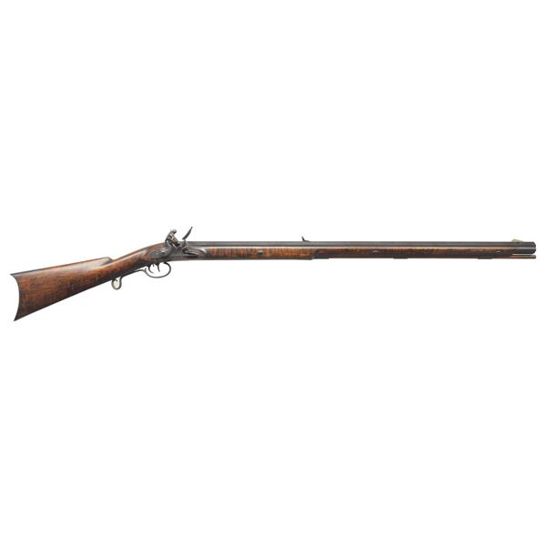 FINE CONTEMPORARY COPY OF A HAWKEN RIFLE BY THE