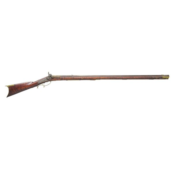 FULL STOCK PERCUSSION PENNSYLVANIA RIFLE WITH