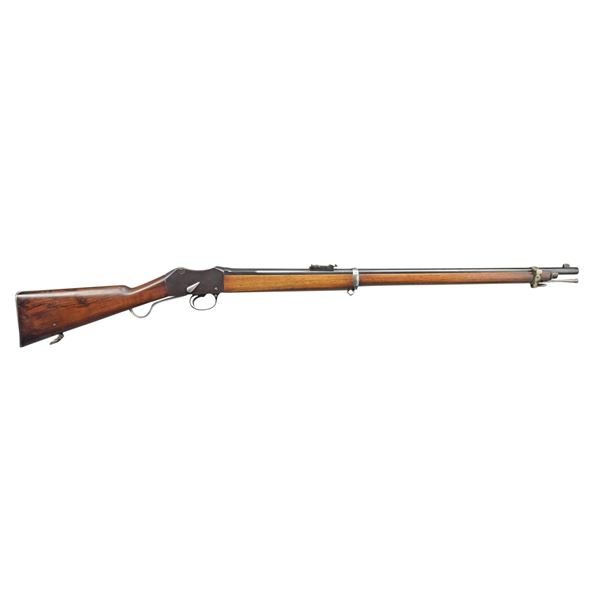RECONDITIONED 1874 ENFIELD MARTINI HENRY MUSKET.