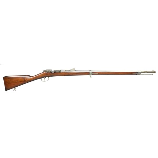 BEAUMONT 1871 BOLT ACTION SINGLE SHOT RIFLE WITH