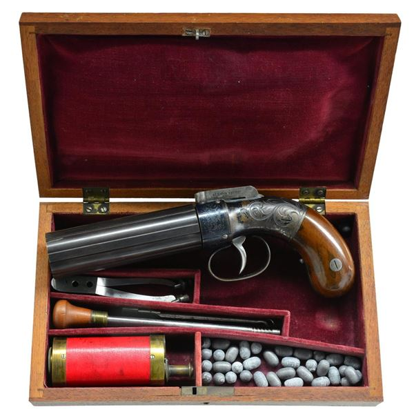 EXCEPTIONAL CASED ALLEN & THURBER BABY DRAGOON