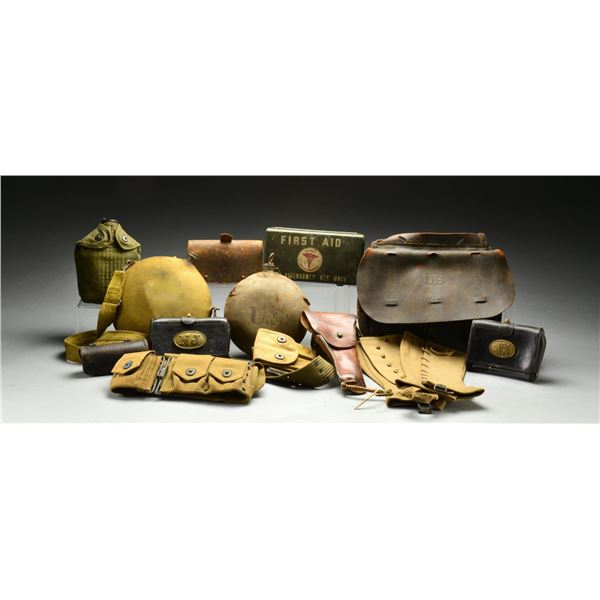 LARGE GROUP OF INDIAN WAR TO CURRENT MILITARIA.