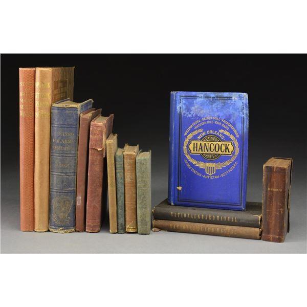 20 CIVIL WAR & CIVIL WAR RELATED BOOKS &
