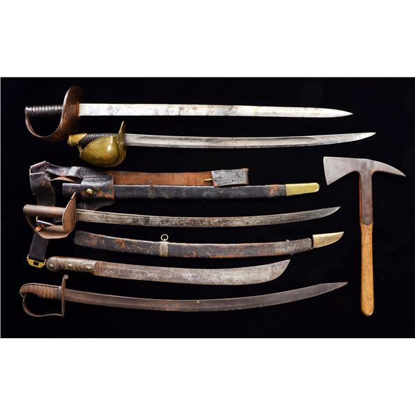 6 EDGED WEAPONS.