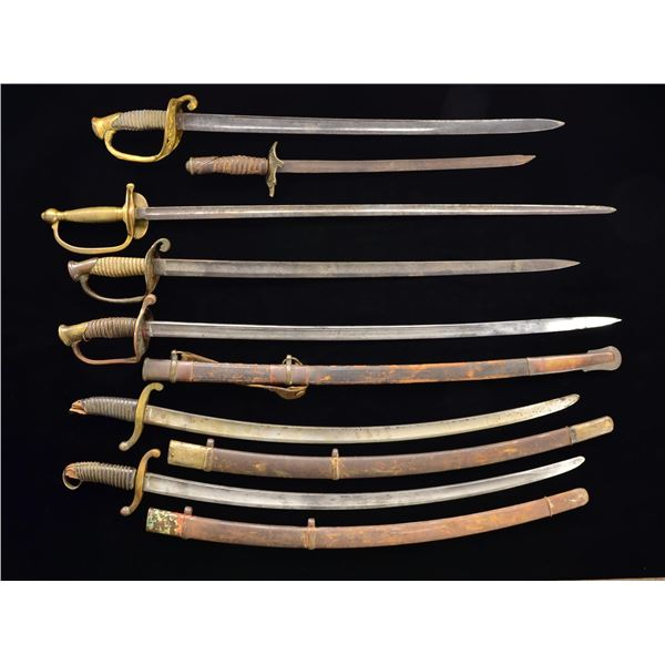 7 US & FOREIGN SWORDS.