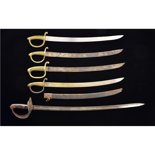 13 FOREIGN SWORDS.