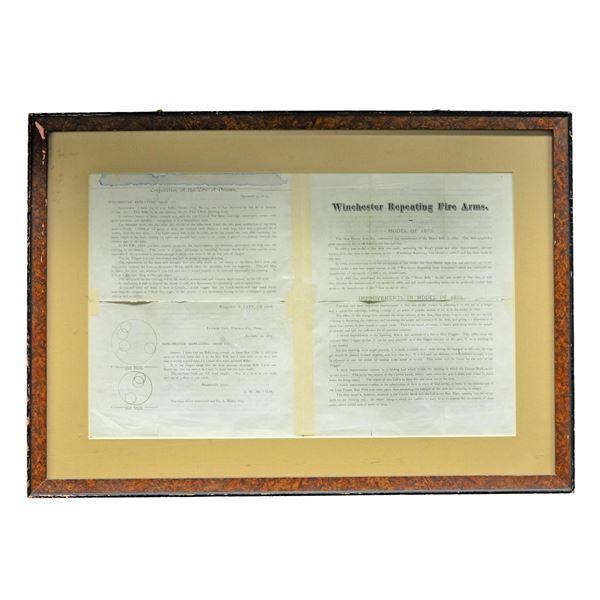 ORIGINAL WINCHESTER MODEL 1873 ANNOUNCEMENT