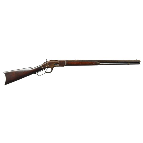 WINCHESTER 2ND MODEL 73 WITH THUMBPRINT DUST