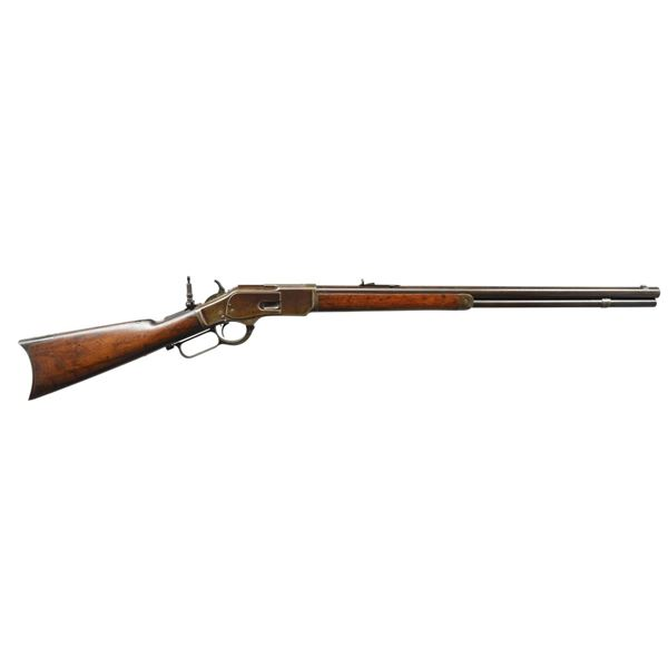 EARLY 2ND MODEL WINCHESTER 1873 RIFLE.
