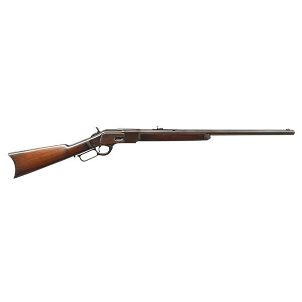 WINCHESTER 3RD MODEL 1873 LEVER ACTION RIFLE.