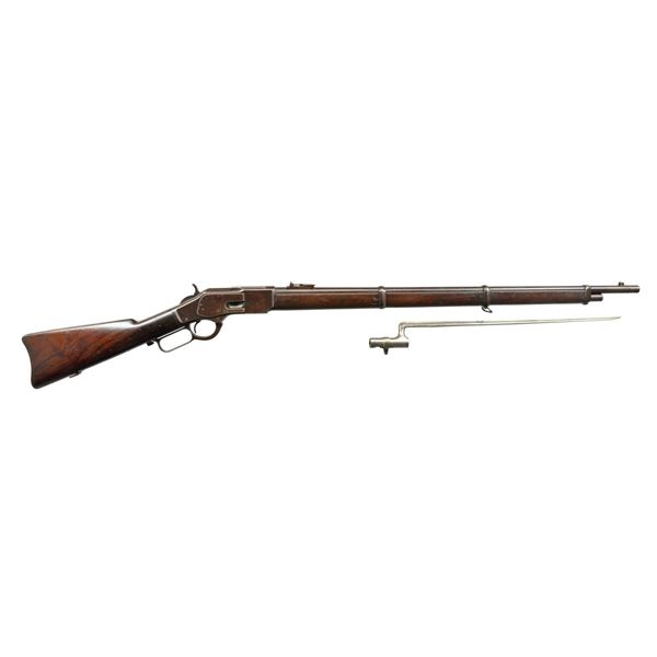 WINCHESTER 3RD MODEL 1873 MUSKET W/ BAYONET.