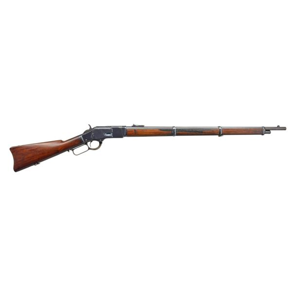 WINCHESTER 1873 THIRD MODEL LEVER ACTION MUSKET.