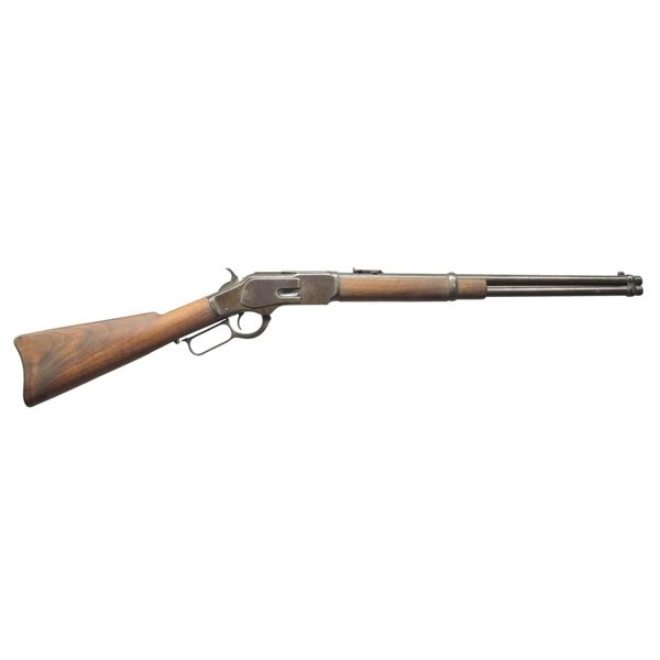 WINCHESTER 1873 THIRD MODEL LEVER ACTION CARBINE.
