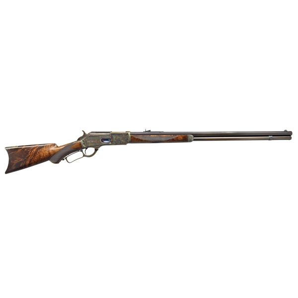 WINCHESTER 1876 DELUXE LEVER ACTION RIFLE.