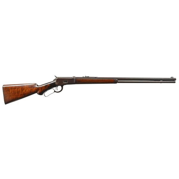 WINCHESTER 1892 SEMI DELUXE LEVER ACTION RIFLE.
