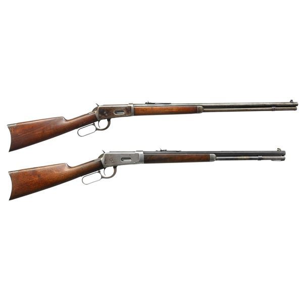 2 WINCHESTER MODEL 1894 LEVER ACTION RIFLES.