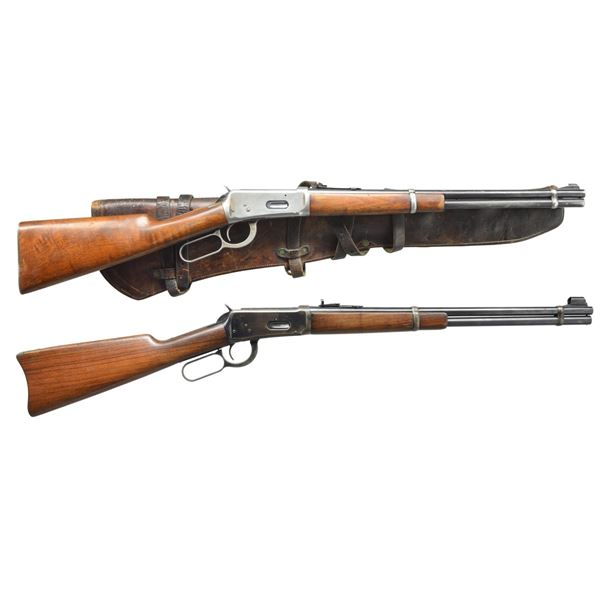 2 WINCHESTER PRE 64 MODEL 94 LEVER ACTION CARBINES