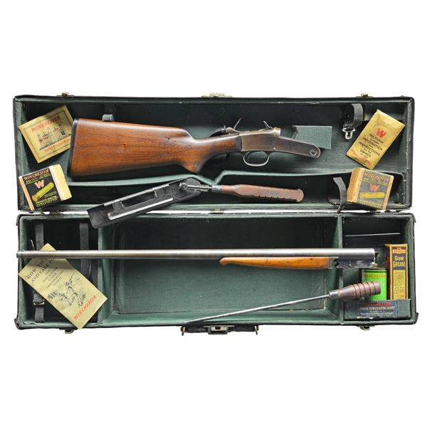 WINCHESTER MODEL 20 JUNIOR TRAPSHOOTING OUTFIT.
