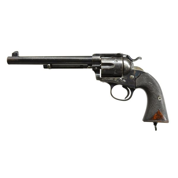 COLT BISLEY FLAT TOP SA REVOLVER, 1 of 196