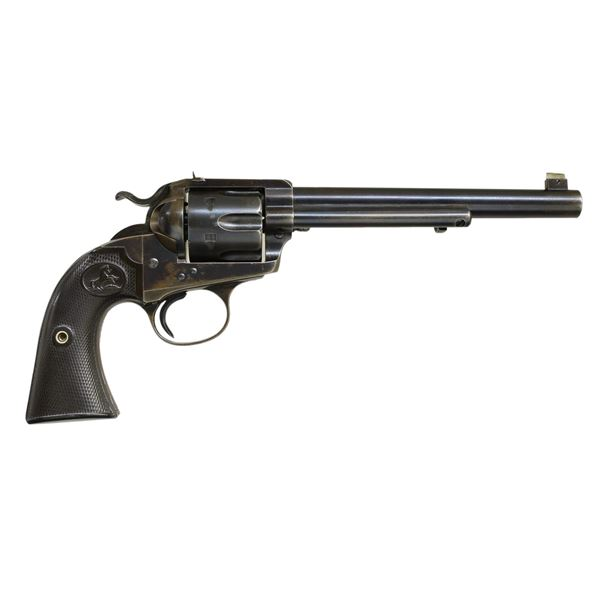COLT BISLEY FLAT TOP SA REVOLVER, 1 OF 96