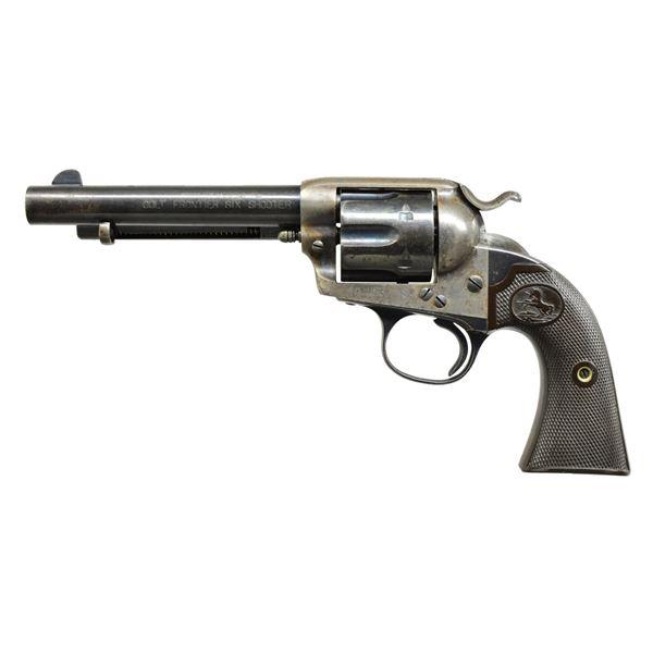 COLT BISLEY FRONTIER SIX SHOOTER SA REVOLVER.
