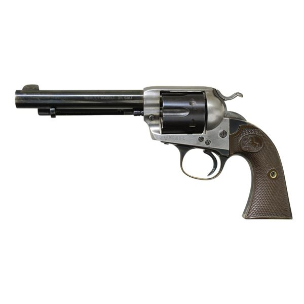 1 of 412 PRODUCED COLT BISLEY MODEL SA REVOLVER.